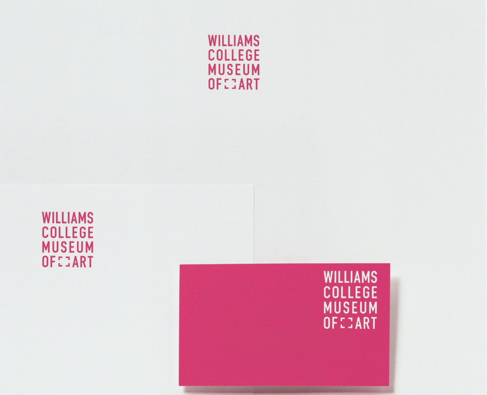 Williams College Museum of Art. Identity.