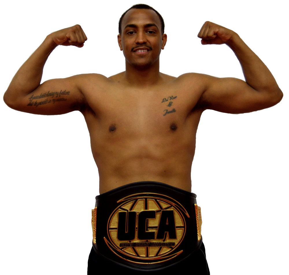 """Sterling """"Money"""" Ingram   - Amateur Boxing & MMA Fighter  - 160lbs    - United Combat Association Super Middleweight Champion (Boxing - Obtained April 2019)    -  Undefeated  (Amateur Boxing & MMA)   -    Upcoming Bout:   VFS MMA 4 - Reedley, CA May 11th, 2019  - MMA"""