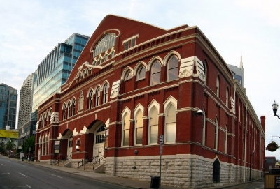 (The Ryman Auditorium - Photo Courtesy of OnlyInYourState.com