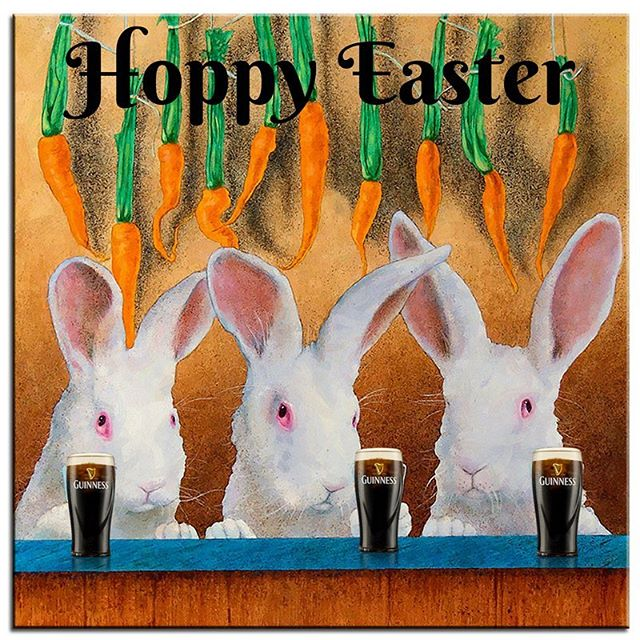 To all our friends and patrons, wishing everyone a very Hoppy Easter from management and staff!