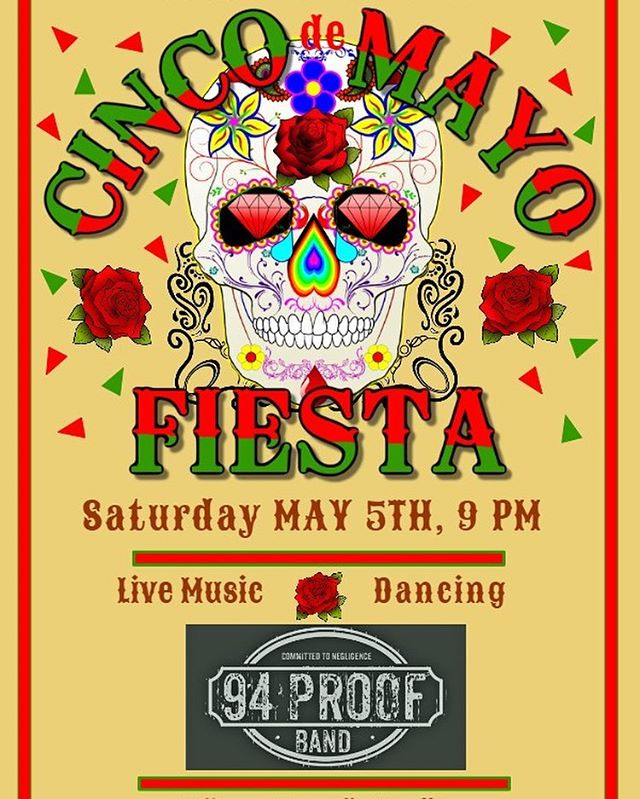 Join us at The Gael Pub on Cinco de Mayo for our fiesta with live music! 🍹🇲🇽🎶