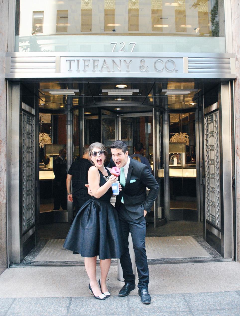 Birthday breakfast at tiffany 39 s eternal optimist nyc for Tiffany a new york