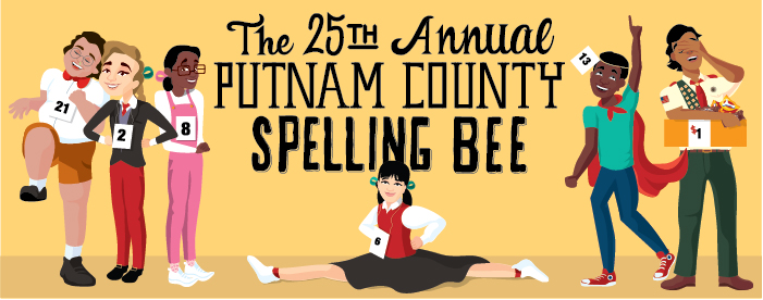"The 25th Annual Putnam County Spelling Bee - SEP 19-OCT 15, 2017Dust off your dictionary as six awkward adolescents face off in the battle of their lives. Let the spelling (and the singing) begin! The competition is intense. The words are outrageous.  The songs are hilarious. These six quirky youngsters tell tales from their home lives while spelling their hearts out hoping to never hear the crushing ""ding"" of the bell that signals a mistake. Both tender and sarcastic, this joyful Tony Award-winning musical of overachievers' angst brings you inside a spelling championship you'll never forget. Join us at BRISTOL RIVERSIDE THEATRELeigha will be playing Marcy ParksTickets!"