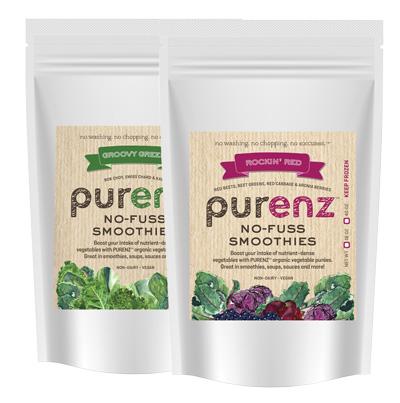 Purenz Vegetable Smoothie Boosts