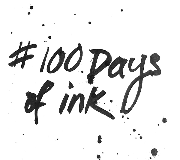 100daysofink-day1