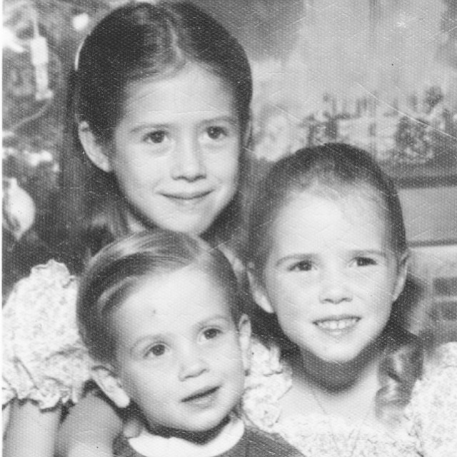 The Salas siblings :: Tammi + Traci + Kevin circa 1978