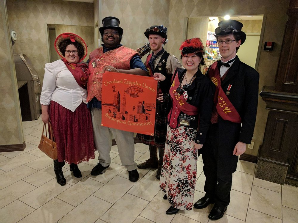 Here's the Union at the Steampunk Symposium this year.