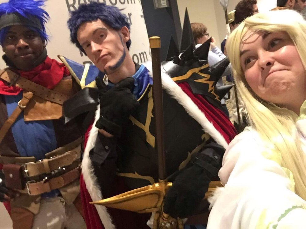 Reyson also got a lovely selfie of us with my friend's Ike.
