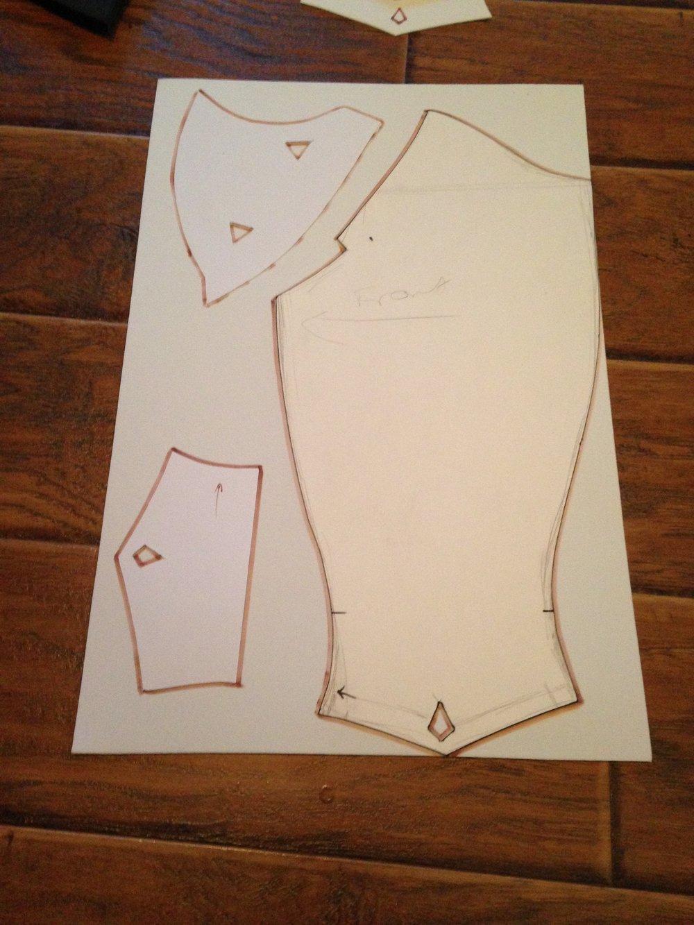 Armor Patterns Simple Decorating Design