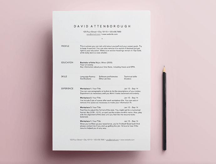 format  web designer developer resume  create resume from template    killer advice for making a resume sunday chapter