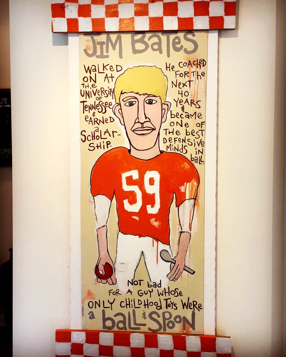Jim Bates - Ball & Spoon / 2'x4' /SOLD