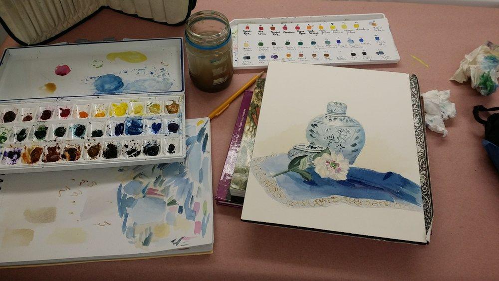 Arts Wayland studio activities