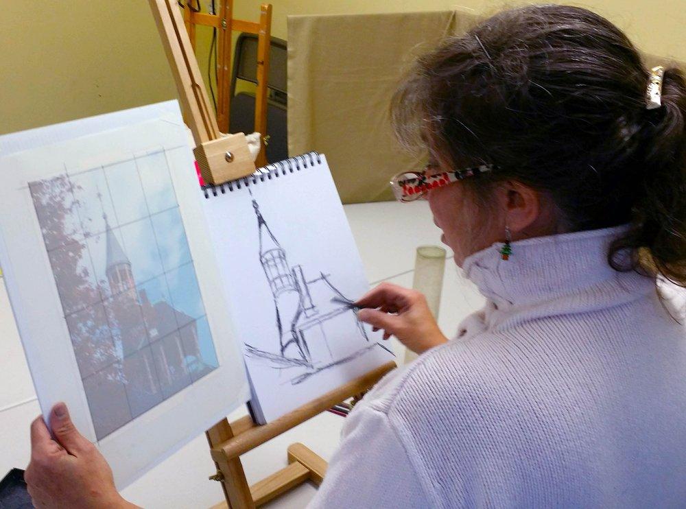 drop in art -Bernadette Q at the studio.jpg