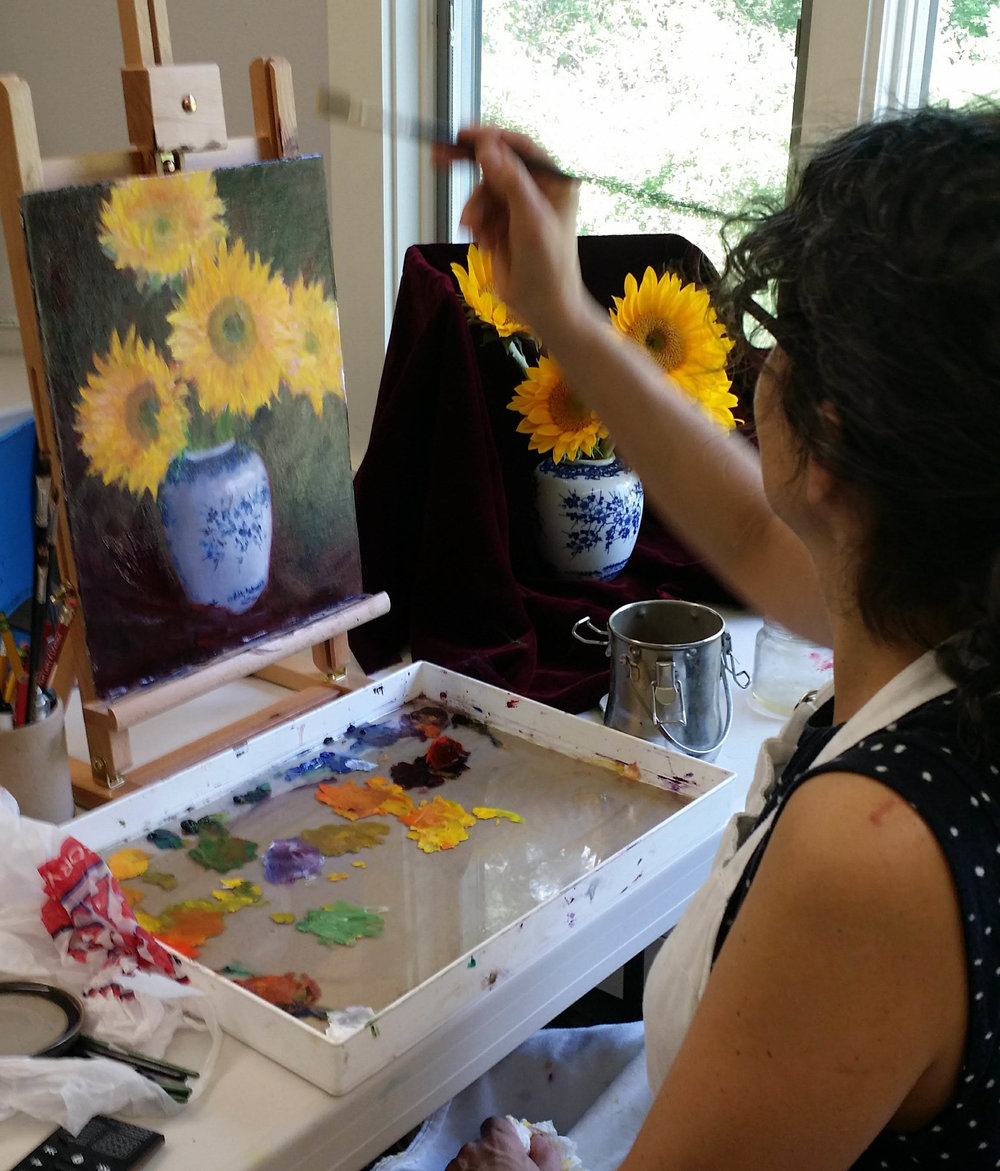 Pearl McCarthy painting at Arts Wayland drop in-2.jpg