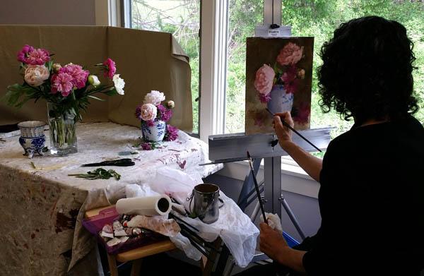 Peal McCarthy painting flowers-lores.jpg