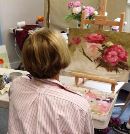 Student at Jack Keledjian painting workshop at Arts Wayland-2.jpg
