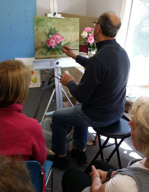 Jack Keledjian painting workshop at Arts Wayland.jpg