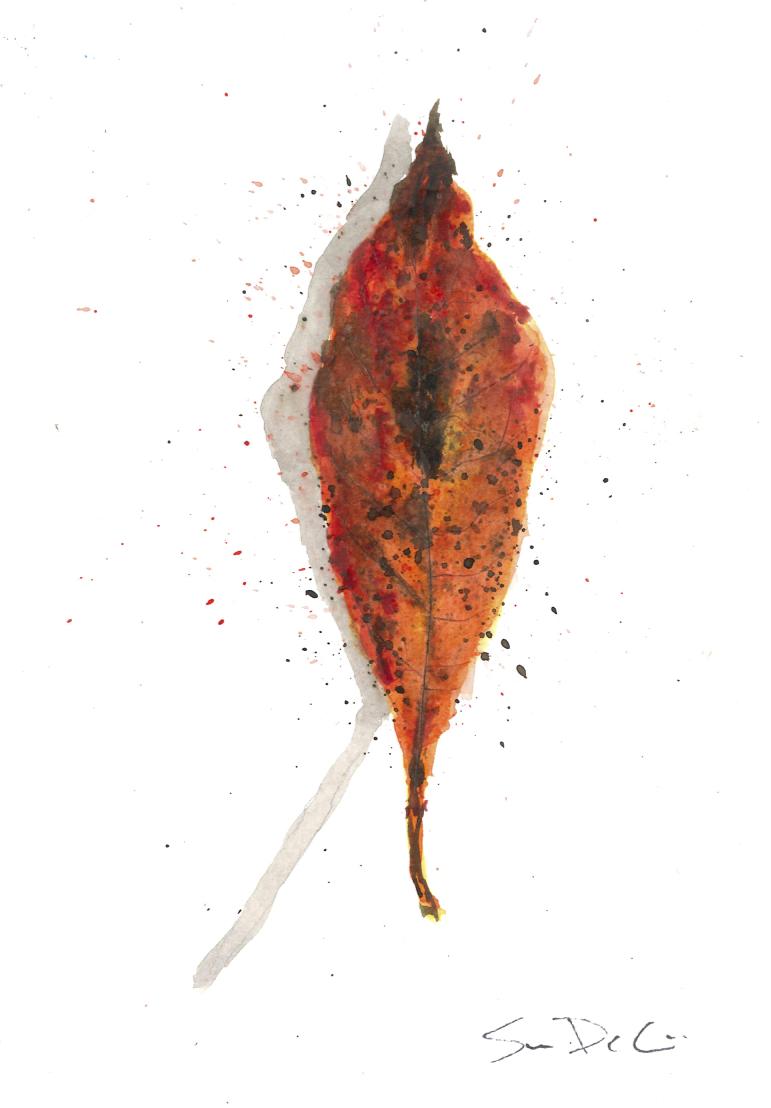 Tupelo Leaf Portrait 061