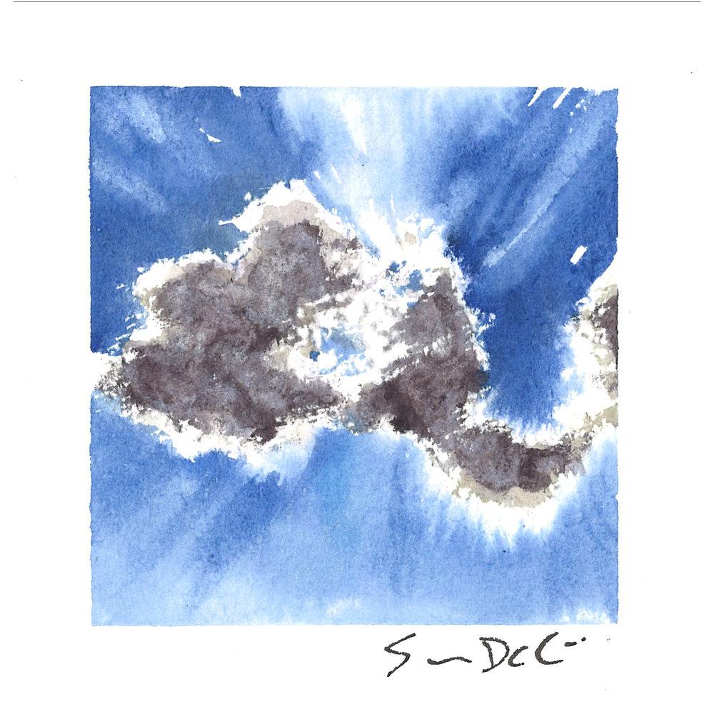 blue skies III - SOLD