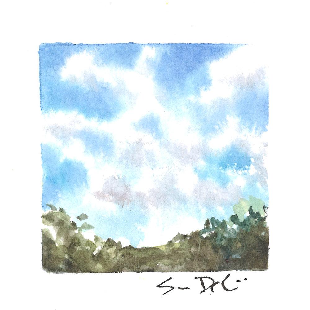 blue skies IV