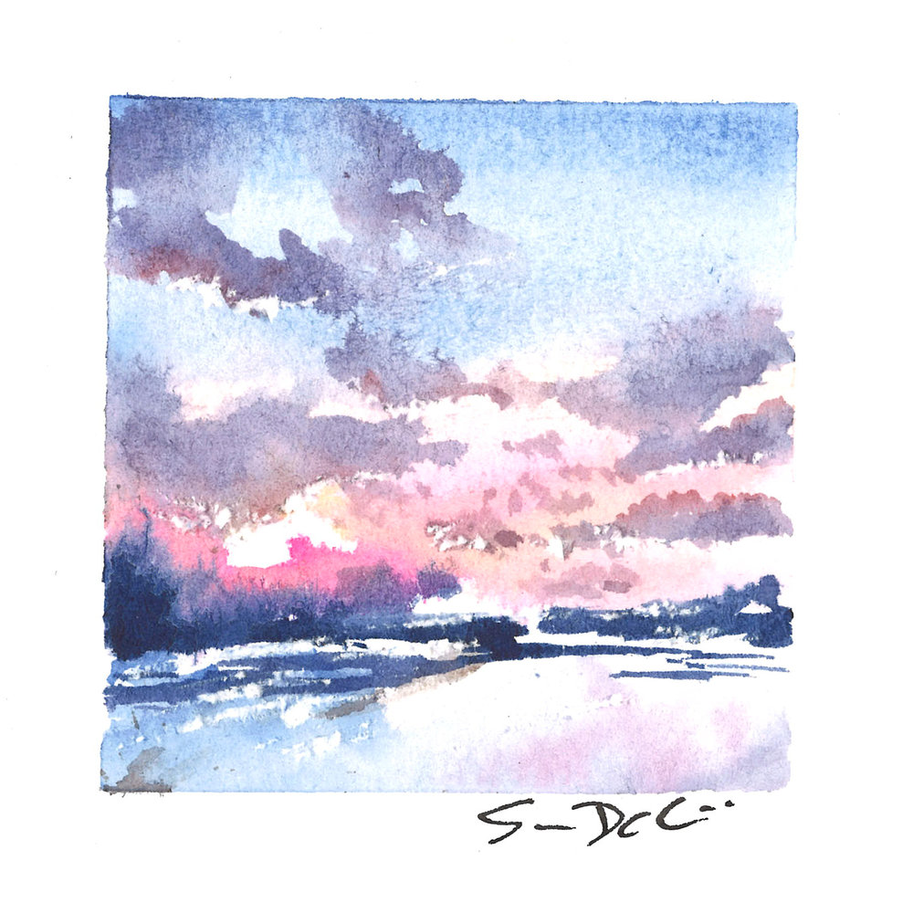 pink tide - SOLD