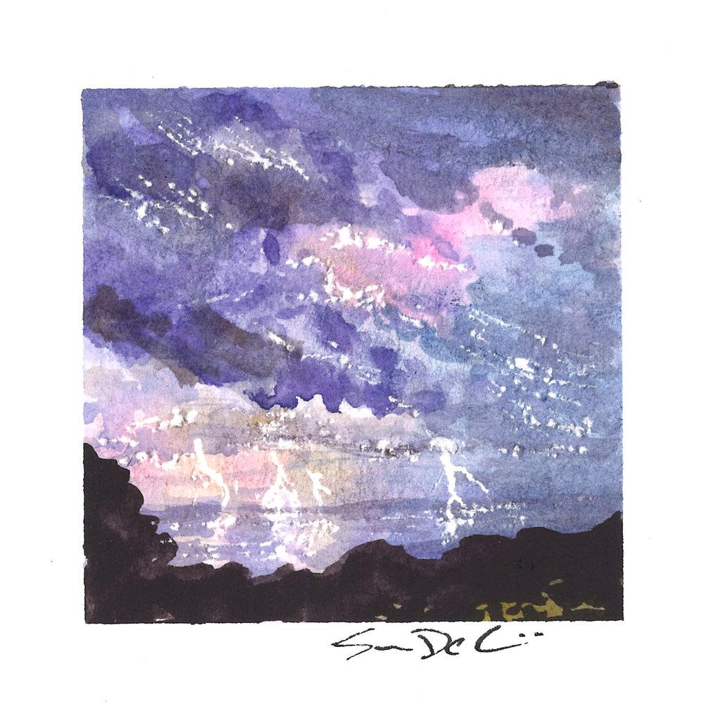 storm in violet