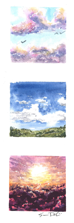 the sky sings II - SOLD