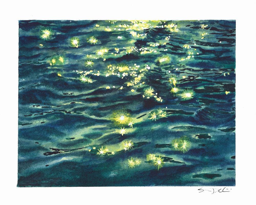 sparkling sunlight