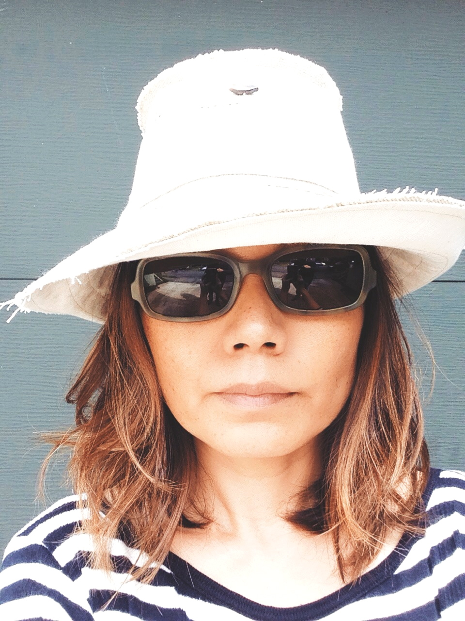 'Set Sail' Sun 'n Shade Hat - Flipped View