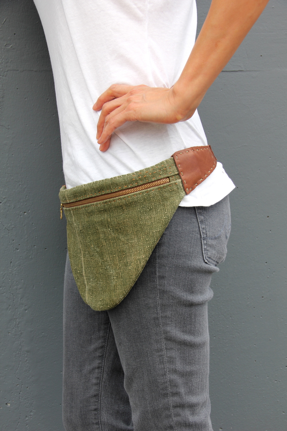 Verdant Range Hip Sling Bag