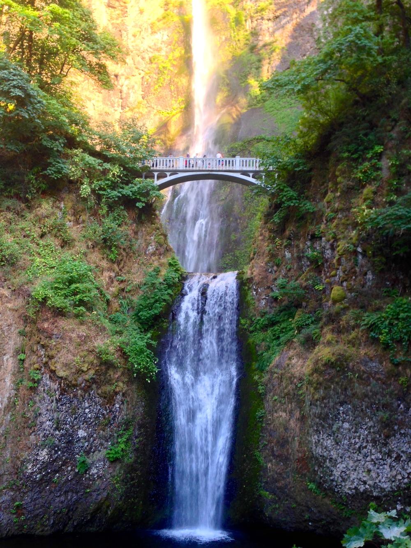 Majestic Multnomah Falls