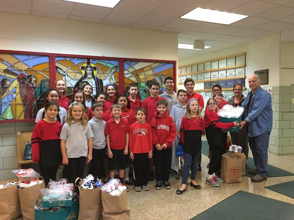 Service at Saint Alphonsus Liguori School