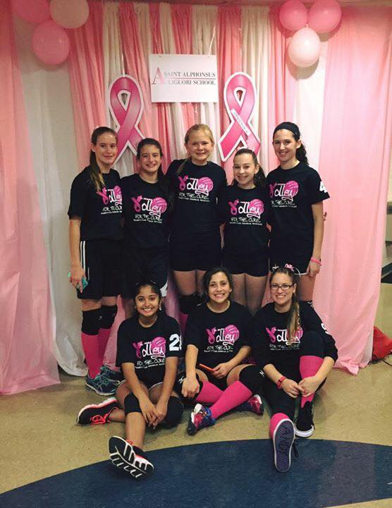 THANK YOU TO EVERYONE WHO VOLUNTEERED AND DONATED TO VOLLEY FOR THE CURE!  ALSO, THANK YOU TO ALL OF THE SCHOOLS PARTICIPATING AND DONATING.  THE EVENT, WITH PRIZES, GAMES, PINK HAIR, FACE PAINTING, AND FUN, RAISED THOUSANDS FOR A GREAT CAUSE!  CHARGING ON FOR A CURE!  #CHARGEON #STALCHARGERS #CATHOLICSCHOOL #VOLLEYFORACURE