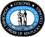 Official emblem of the Honorable Order of Kentucky Colonels