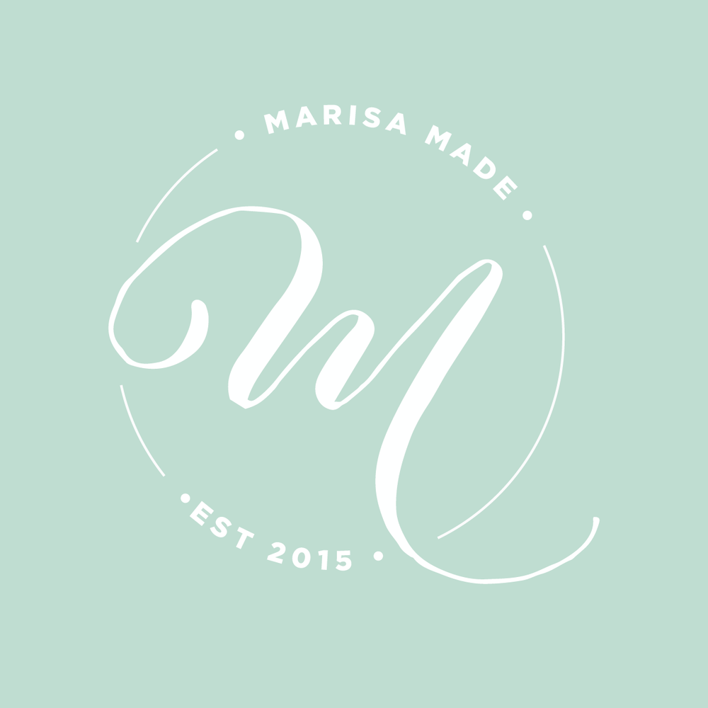 marisa made | brand + website