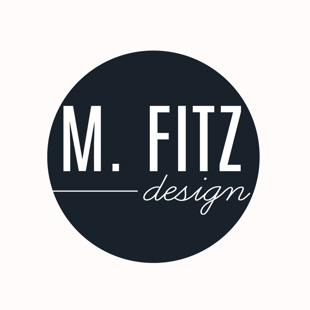 m. fitz design | brand suite + website