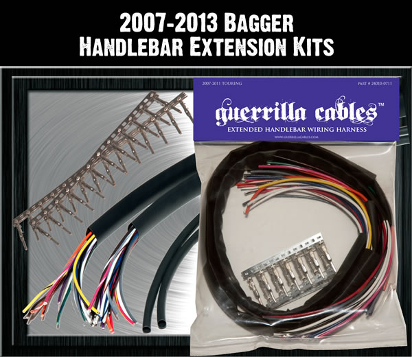 Guerilla Cables 2008-2013 Main Touring Control Wiring Harness ...