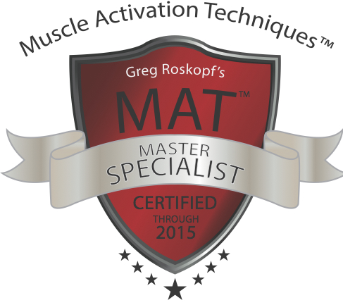Our staff is certified or pursuing MAT Master Level Specialists.