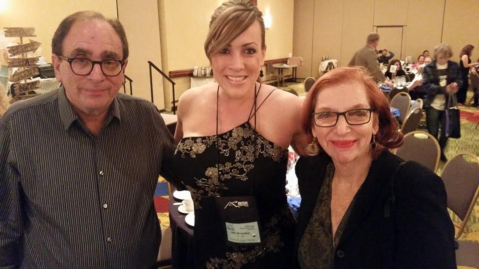 R.L. Stine and his lovely wife Jane!