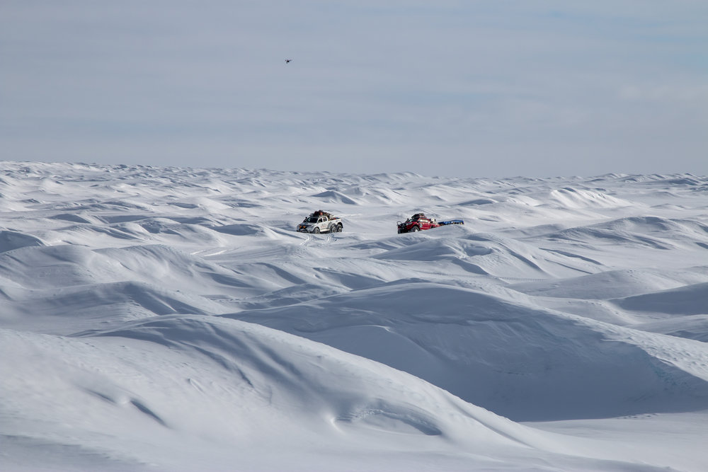 Arctic Trucks Traverse Greenland with Expeditions 7 - by Sociate