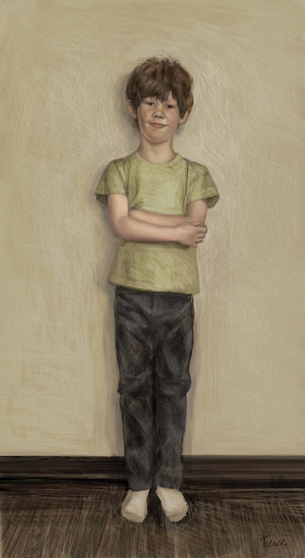 """Joshua"" by Nathalie Tierce"