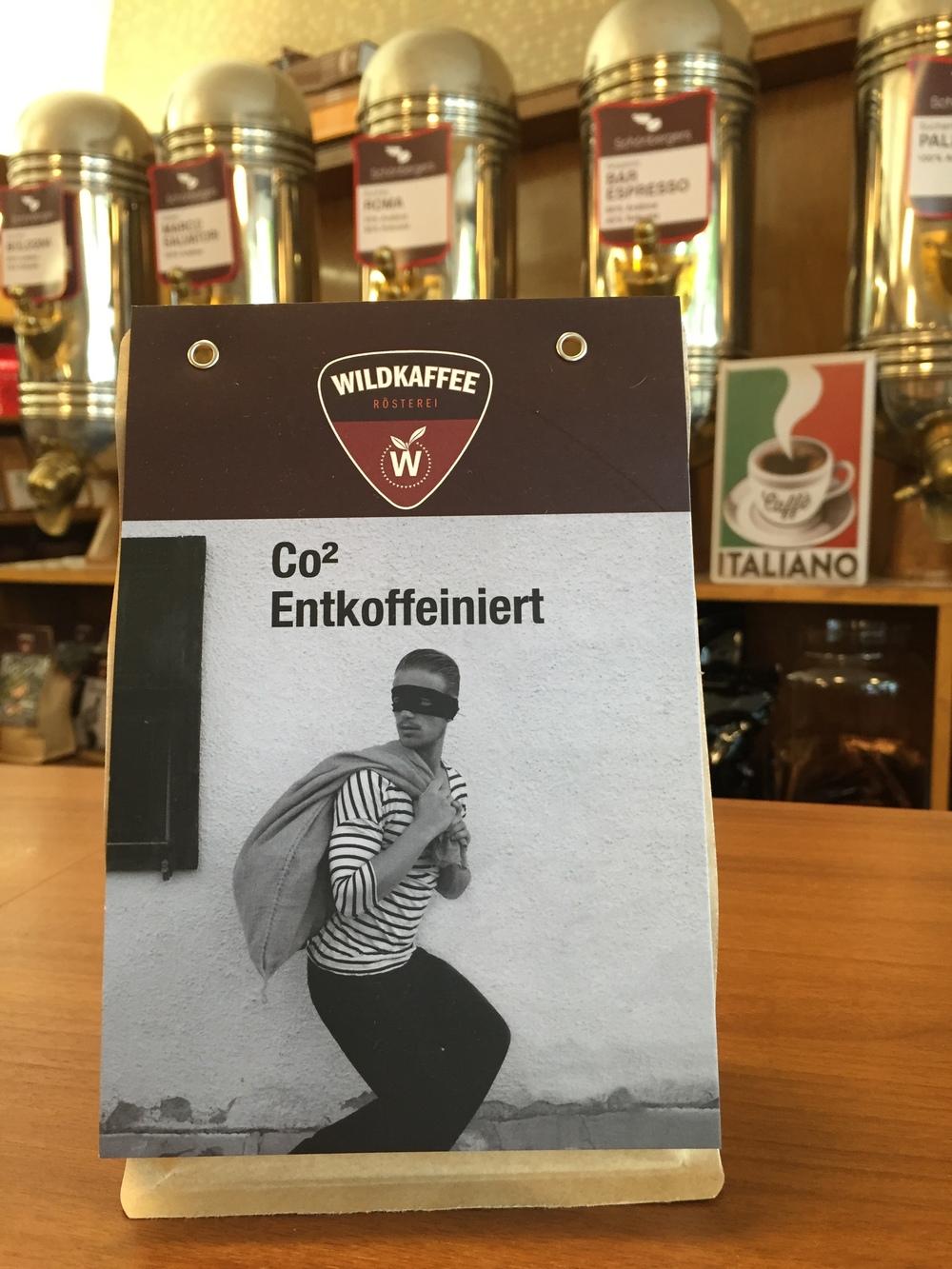 Wild Kaffee im Schönbergers