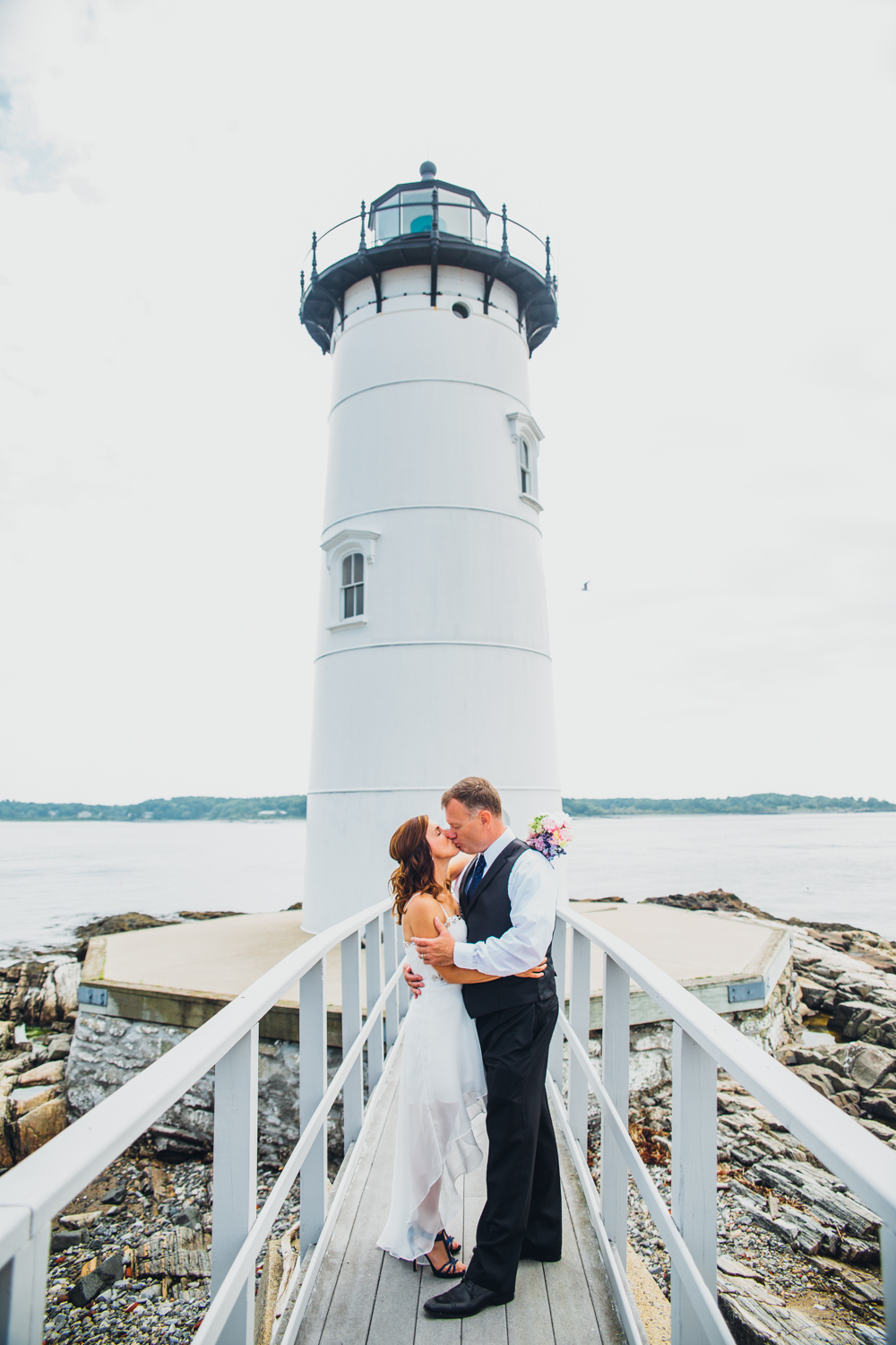 Whitney Johns Fort Constitution Wedding Portsmouth New Hampshire Photographer