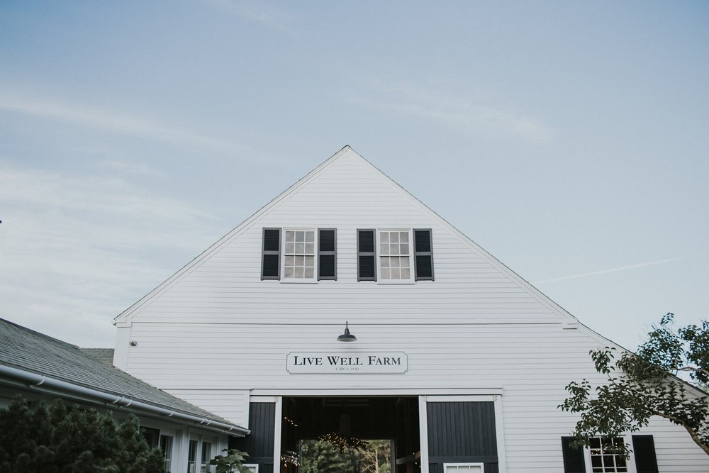 Live Well Farm Harpswell Maine Wedding Photographer