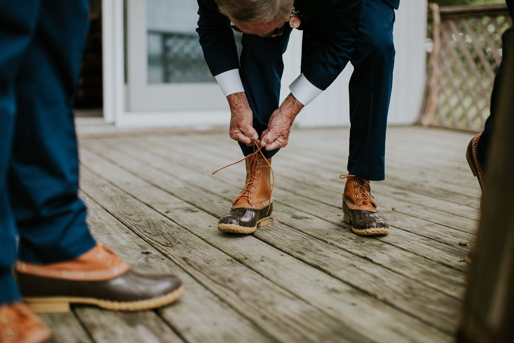 L.L.Bean Boots Maine Wedding Photographer