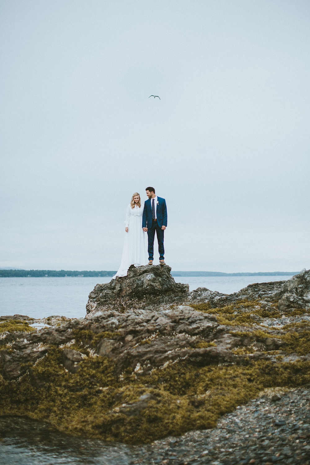 Bar Harbor Maine Fine Art Wedding Photographer