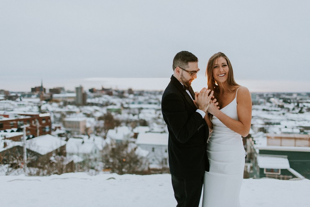 december wedding in Maine