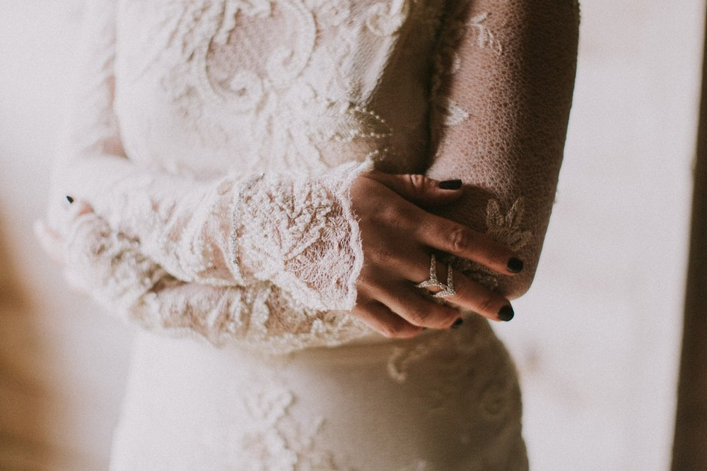 moody maine wedding inspiration