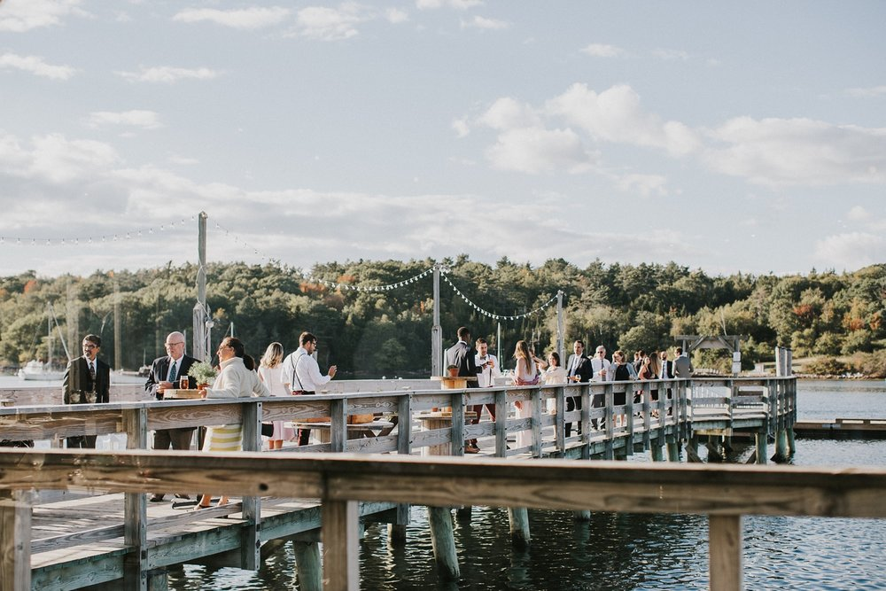 new harbor maine wedding photographer contented sole