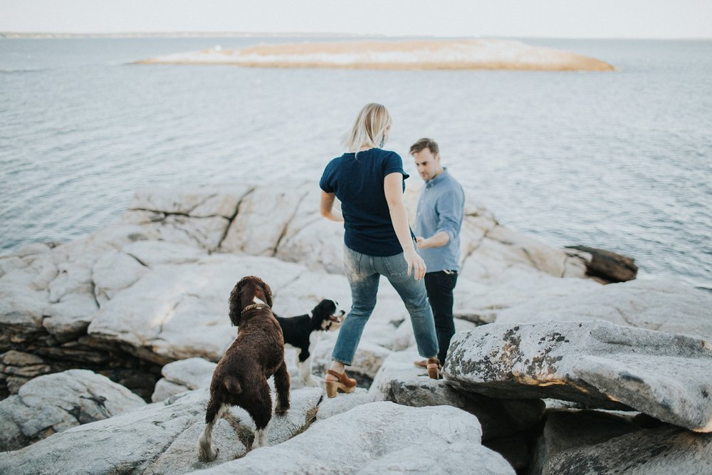 maine wedding and engagement photographer reid state park
